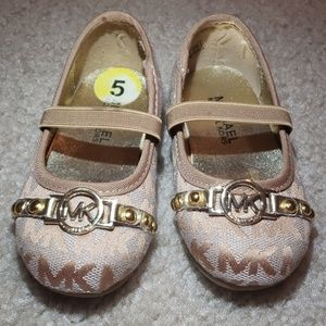 MK Nude baby Shoes
